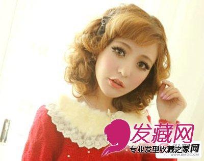 > 各式刘海发型图片 时尚女生发型彰显不同风情(6)  导读:半圆形 刘海