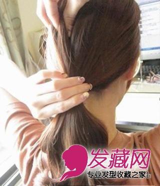 无刘海马尾辫扎法 露额头马尾发型设计 →10种创意马尾编发教程