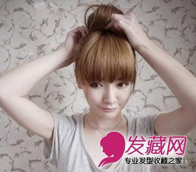 发型网 发型diy 编发教程 > 丸子头怎么扎好看 可爱到爆的韩式丸子头