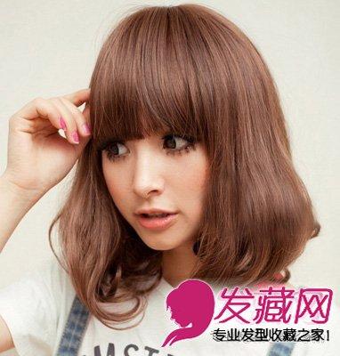 烫发发型 非常清新温暖的短发梨花头发型(3)  导读:一个卷圈设计的图片