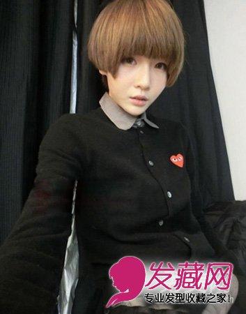 时尚感短发发型 潮女气质完美体现(3)