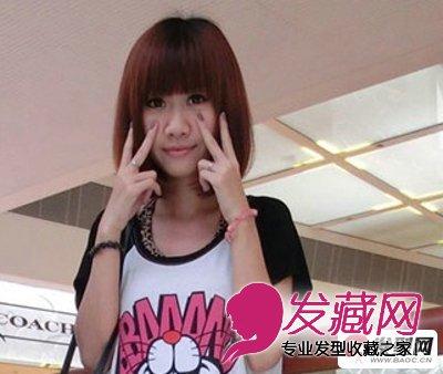 长脸适合什么发型 推荐6款长脸女生适合的修颜短发发型(6)