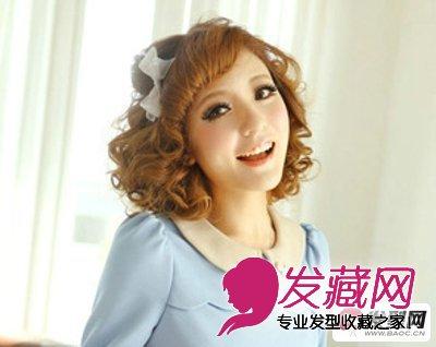 脸型与发型 推荐6款小脸女生发型(2)