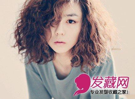 【图】2013最新款泡面头发型; 2013最新韩式短发蛋卷头发型