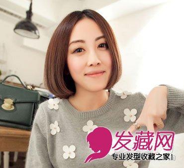 中短发发型 发尾蓬松感发型设计(3)