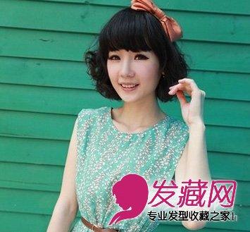 最新韩式短卷发 短发烫发发型设计