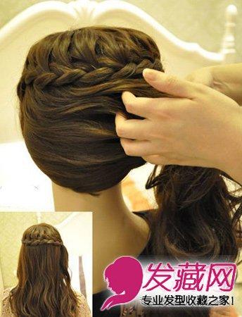 夏天清凉好看的发型扎法 简单3步告别披头散 →郑爽,ab都撞发型