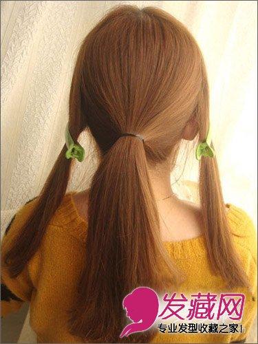 发型网 发型diy 盘发教程 > 韩式编发盘发显优雅 长发怎么扎好看(2)