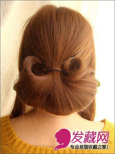 盘发教程 > 韩式编发盘发显优雅 长发怎么扎好看(8)  导读:步骤8,调整