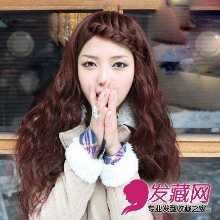2015春季流行的泡面头发型 打造唯美仙女范(3)图片