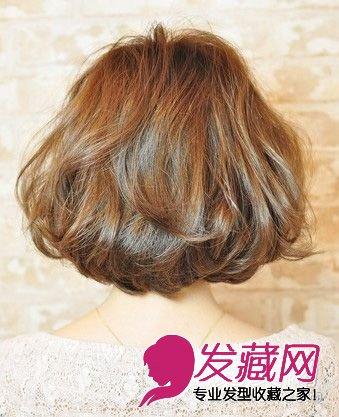 最新款超好看短发发型设计图片 2