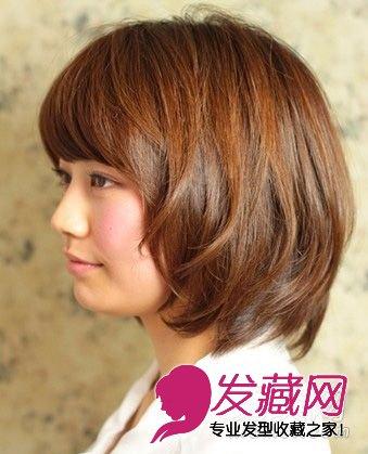 最新款超好看短发发型设计图片 3