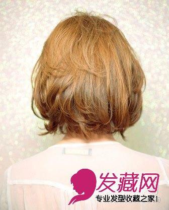 最新款超好看短发发型设计图片 4