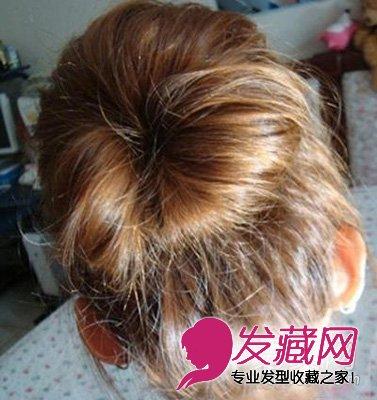 图解蓬松丸子头扎发 增高减龄又甜美 8