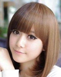发型与脸型的搭配 小脸女生发型图片欣赏