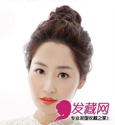 春季新款韩式新娘发型 唯美仙女范(7)