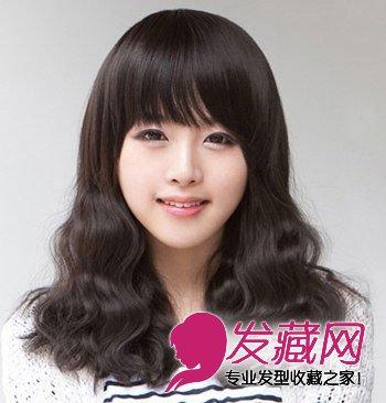 韩式蛋卷头发型 →韩式卷发发型图片 层次蓬松卷发发型 →长发女生
