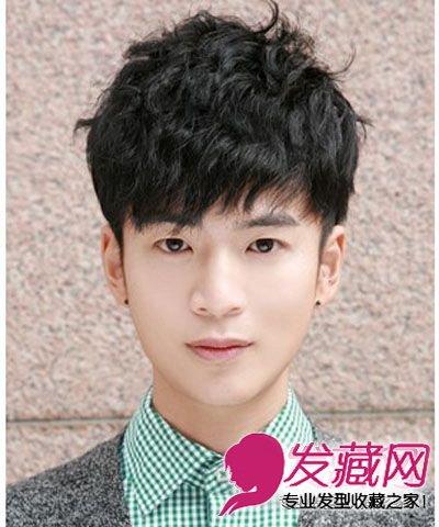 阳光帅气的男生短发发型 尽显潮男本色