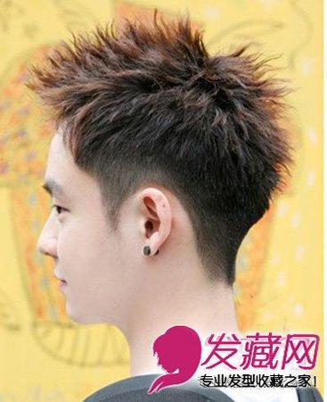 阳光帅气的男生短发发型 尽显潮男本色(4)