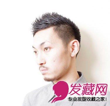 成熟男士适合的短发 轻熟男发型图片