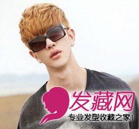 韩系发型烫发发型爽朗清秀的韩式男发男士(7)贝克汉姆小贝头型图片