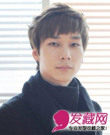 韩式男生纹理烫短发 细腻的纹理烫发发型(7)图片