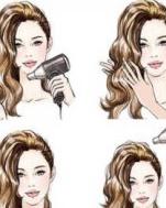 吹发技巧拯救发型缺陷