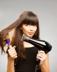 教你不损发质吹发型 自然卷怎么吹