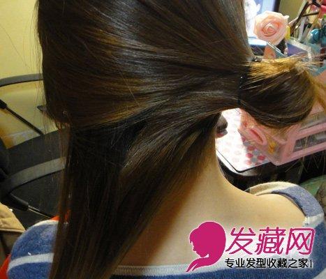 最简单好看简易实用的盘发发型(3)