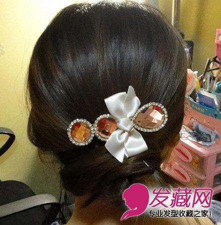 最简单好看简易实用的盘发发型(6)
