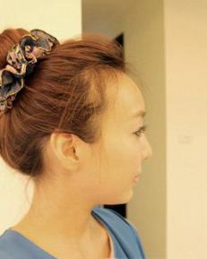 DIY韩式丸子包包头扎发 简单教程一学就会