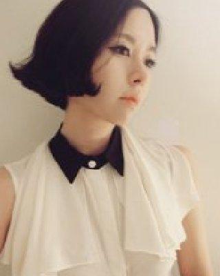 潮流款韩式短卷发 时尚指数百分之百