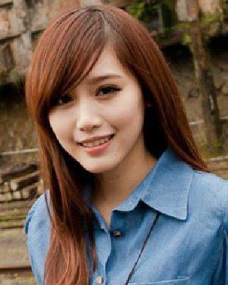 韩式中长发直发发型 韩式淑女中长发直发发型图片(4)