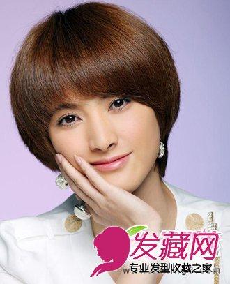 隋俊波发型 干练ol气质短发发型(6)图片