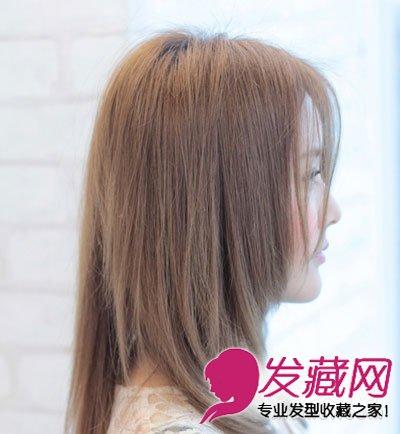 导读:方脸女生适合的发型 修颜款微烫长发 方形脸不适宜留短发.图片
