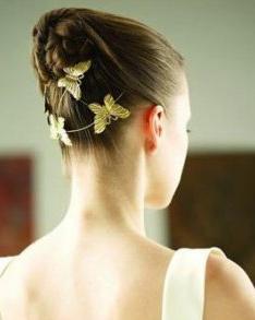2013最新新娘发型设计图片 新娘发型 发藏网