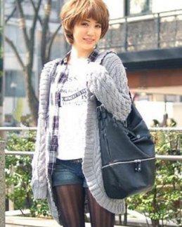 初夏日本MM的厚刘海发型
