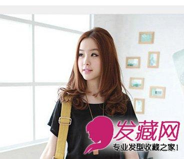 中长发梨花烫发型 非主流风味的中长发(7)