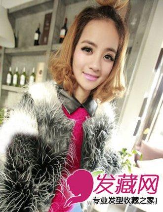 时尚短发梨花头 无刘海的发型设计