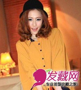 2013新款梨花头 中长发梨花头发型 高清图片