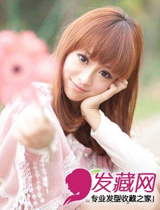 纯净甜美梨花头发型 非常能招桃花的发型(2)
