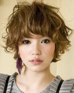 发型 波波头/最新款波波头发型 蓬松的卷发发型设计