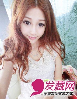 内扣式的刘海发型 给人非常俏皮可爱的感觉(2)
