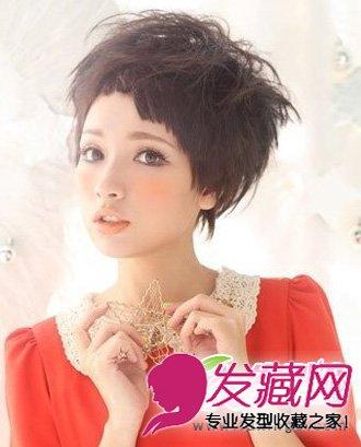 刘海编 →扭转的小辫子活泼可爱!