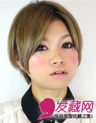 俏皮可爱气质的短发发型 增添时尚魅力(3)