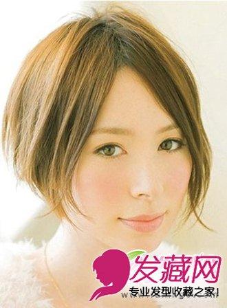 日韩系女生短发大集合 甜美可爱短发发型