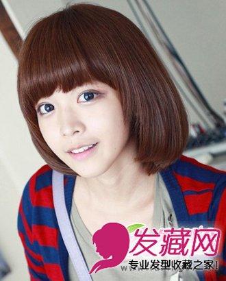 【图】百搭的短发发型 春天甜美气质闪耀(5)_女生可爱