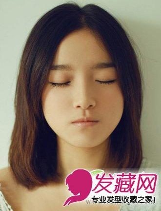 最新流行的中长发发型 清纯靓丽显气质