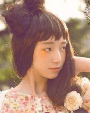 蓬松饱满的蝴蝶结发型  三月最新女生365bet