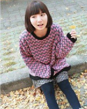 齐刘海的波波头短发发型 变身百变潮女